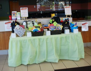 Raffle table #1