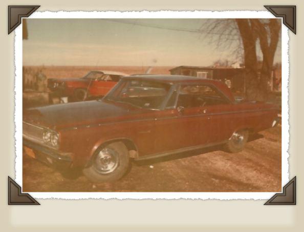 Dad's car.