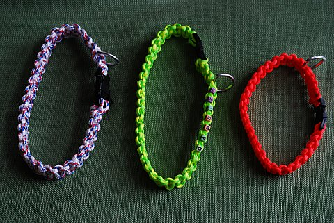 Some of the collars I made.