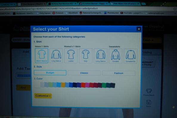 Select Your Shirt
